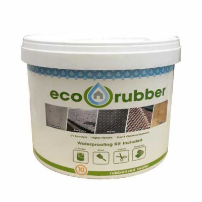 Eco Rubber Diy Kit 5Kg White