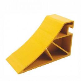 Chock Wheel Truck Yellow