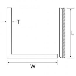 Angle Iron 25X25X3 2Mt Long M/Stl