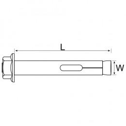 Dynabolt En8 10Mm (100)