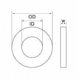 Aluminium Washer 12 X 16