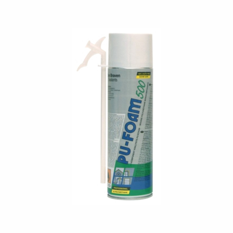 Pu Foam Spray 500Ml Den Bra